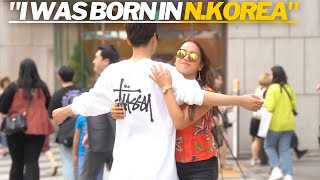 S. Koreans React to Meeting A North Korean for the First Time | Social Experiment