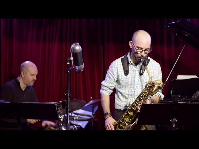 Hurricane Sandy - Live at Cornelia St Cafe: Andrew Hadro w/ Rogerio Boccato