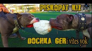 DOCKHA THE PSYCHO-MUSCULAR GIRL WHO ROCKS MEN'S DOGS!