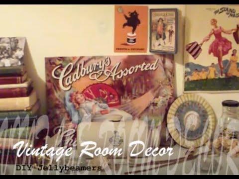 DIY Vintage inspired Room Decoration #1 | Haley & Bronwen