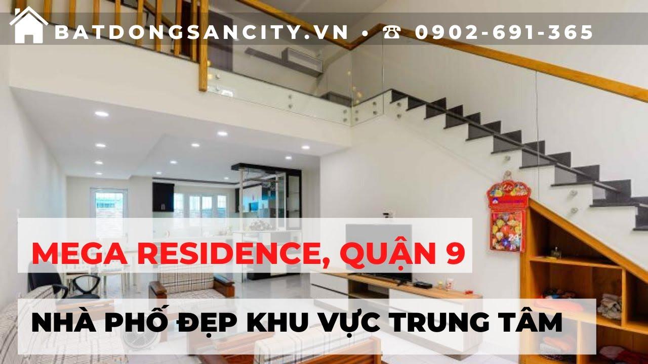 Bán nhà phố Khu dân cư Mega Residence, trung tâm Quận 9, nhà đầy đủ nội thất | Hotline 0902691365