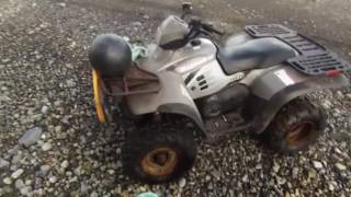 Gambar cover Tlell bc sped up beachcombing  on atv