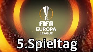 Fifa europa league 2018 | 5.spieltag | gruppenphase | alle spiele, alle tore | marcsarpei