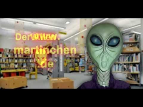 Martina Laser - Ausstellung in der Wolfdietrich-Schnurre-Bibliothek - Der Film zum Alien