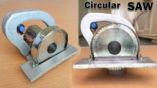 How to Make a Circular Saw at Home