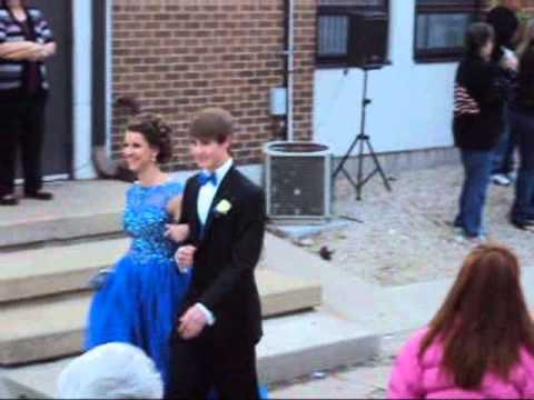 Avery and Will at West Franklin High School Prom