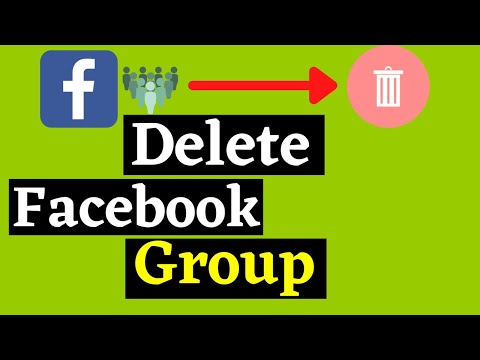 How To Delete Facebook Group Very Simple | Facebook Tricks 2018