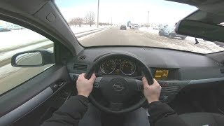 2006 Opel Astra POV TEST DRIVE
