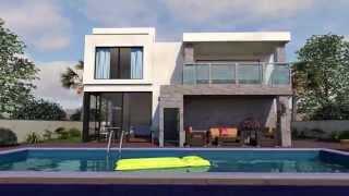 הדמיית פרויקט מגורים פרטי