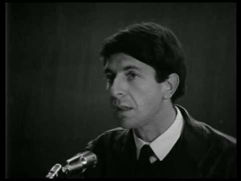 Leonard Cohen Standup Comedy