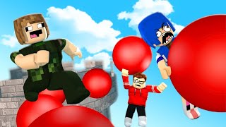 CLIMBING THE BIGGEST ROBLOX TOWER WITH 4 HEARTS