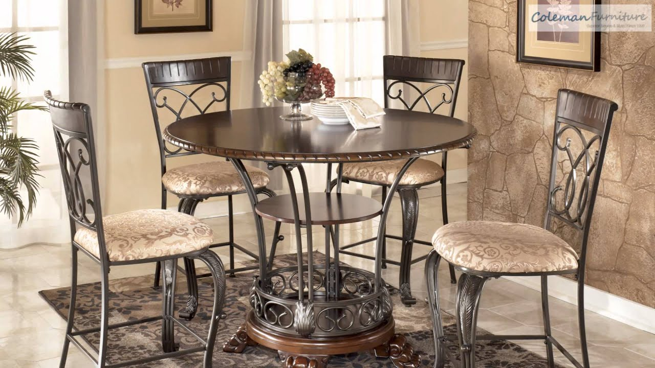 Alyssa Dining Room Collection From Signature Design By Ashly YouTube - Alyssa dining room set