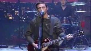 dashboard confessional - hands down (late show)