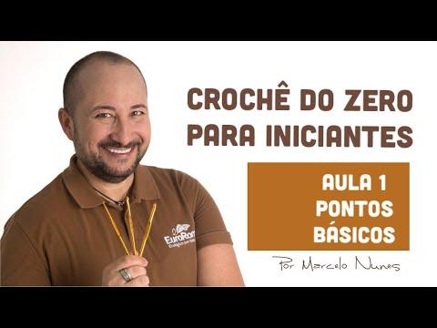 Crochê para iniciantes - Aprenda Crochê do Zero - Pontos Básicos e Fundamentais por Marcelo Nunes