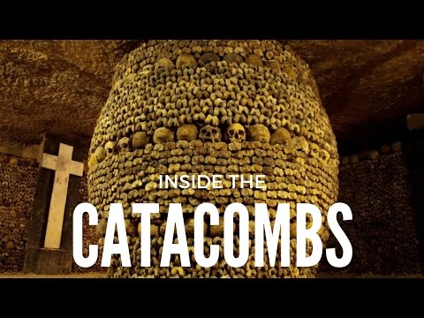 INSIDE THE CATACOMBS // INSIDE NOTRE DAME CATHEDRAL [ HONEYMOON DAY 89 ]
