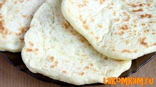 Лепешки из манки вместо хлеба. Бюджетный рецепт