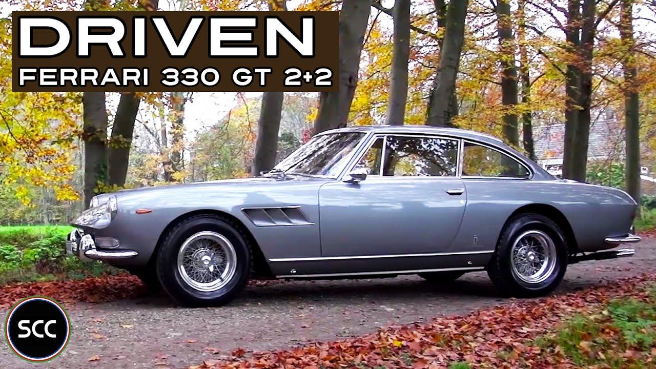 FERRARI 330 GT 2+2 1967 - Full test drive in top gear - V12 Engine sound | SCC TV