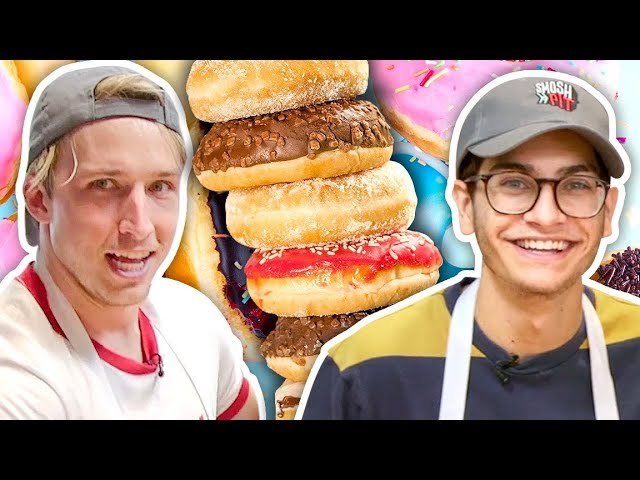 HOW DONUTS ARE MADE! (Day Jobs)