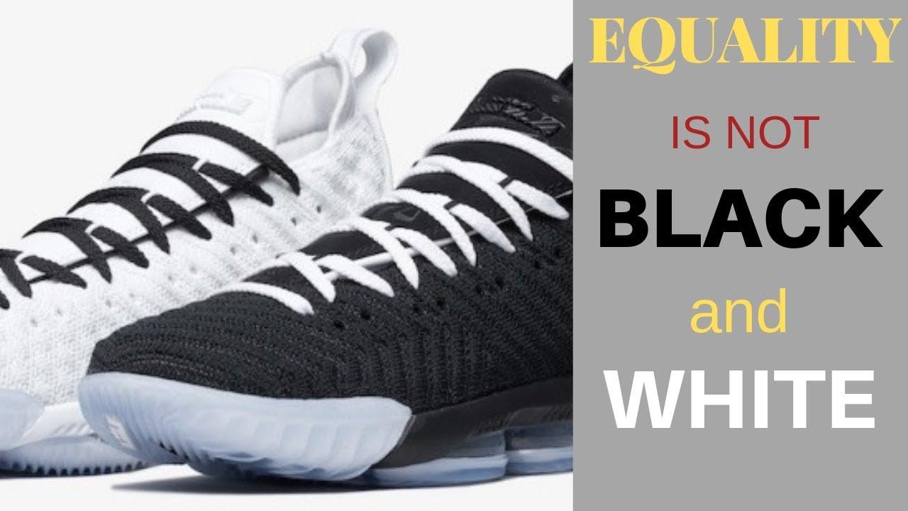 e28599b2f093a Nike LeBron 16 EQUALITY Shoe Review