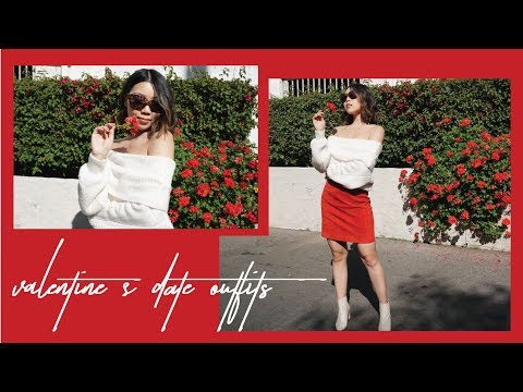 Valentine's Day Date Lookbook | 4 Date Outfits |JULIA SUH