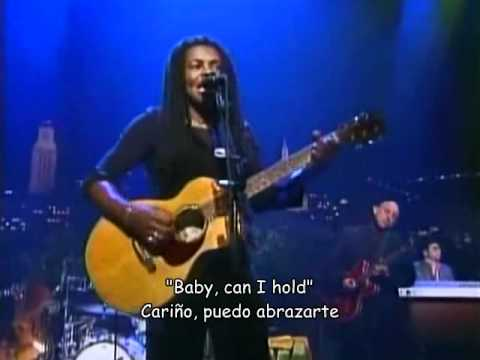 Tracy Chapman - Baby Can I Hold You - live (español)