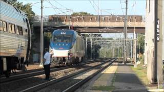 Northeast Corridor Trains Terminating in Old Saybrook. 7-22-11