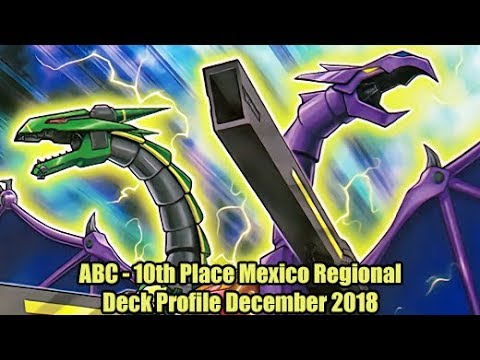 ABC - 10th Place Mexico Regional Yugioh Deck Profile December 2018
