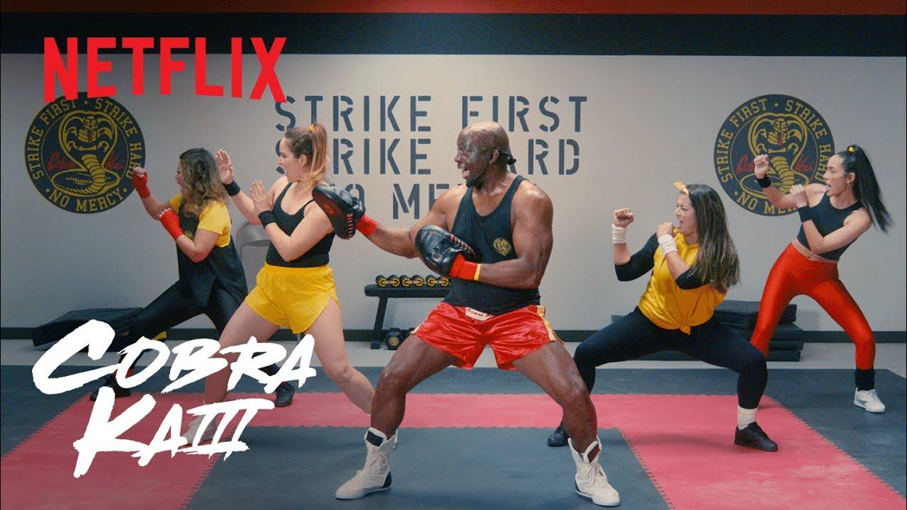 Cobra Kai   Cobra Kai Bo Workout with Sensei Billy Blanks   Netflix