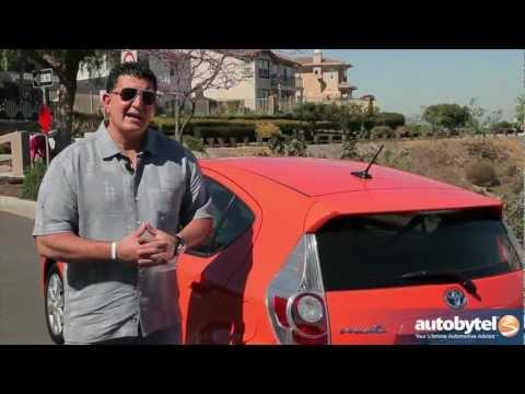 2013 Toyota Prius c Test Drive & Hybrid Car Video Review