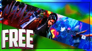 EPIC FREE FORTNITE REAPER BANNER TEMPLATE | PHOTOSHOP |