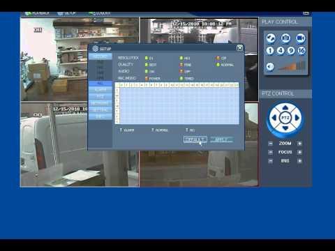 CCTV DVR PC CMS Software for our CCTV DVR