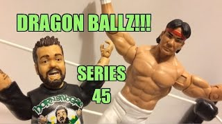 "WWE ACTION INSIDER: Ricky ""The Dragon"" Steamboat Series 45 MATTEL Wrestling Figure Toy Review!"