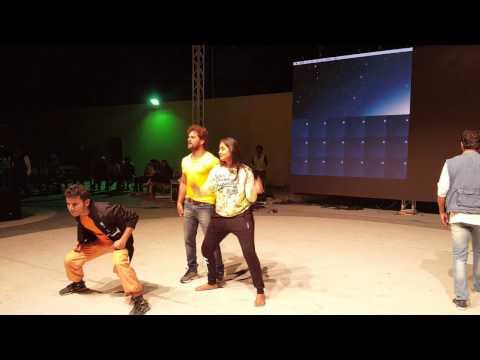 Rehearsal KHESARI LAL YADAV In DOHA - Qatar - BHOJPURI Nepali Mega Star Nite 2nd DEC 2016
