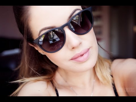 ray ban glasses review  ray ban review, erika violet model