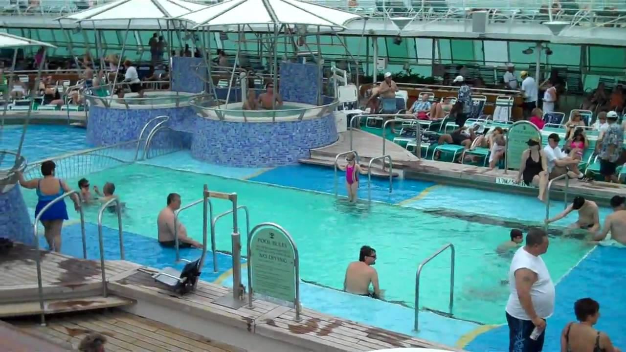 Above Amp Beyond Travel Pool On Grandeur Of The Seas Mp4