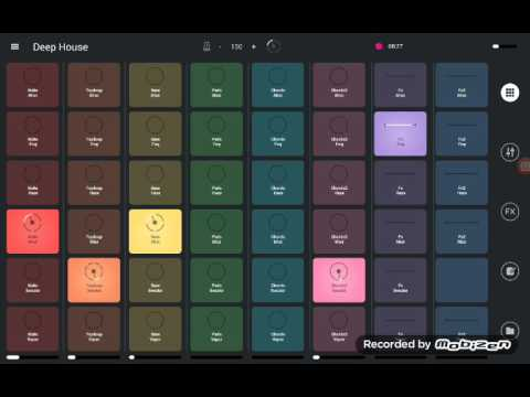 How to create deep house music with Remix Live Android