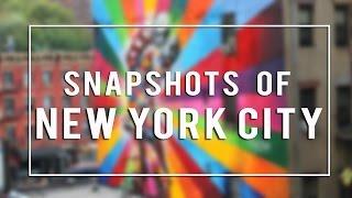 Snapshots of New York City