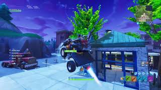 Fortnite Godly cascades avec quad crasher et Flying glitch