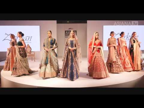 Asiana Bridal Show Birmingham Catwalk 2016 - Zarkan of London