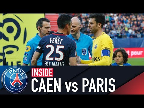 INSIDE - CAEN 0-0 PARIS SAINT-GERMAIN