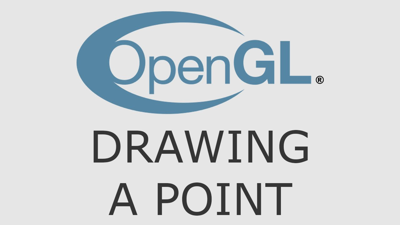 OpenGL Tutorial 6 - Drawing A Point