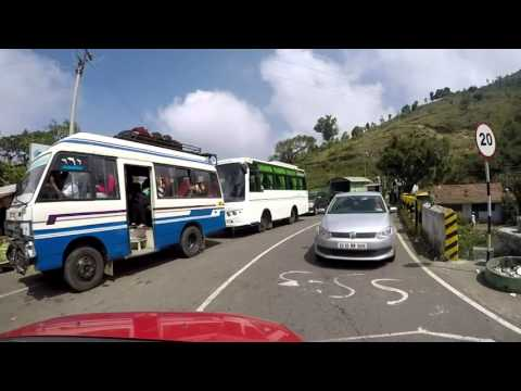 Ooty to Gundlupet [The curvy road with 36 hairpin bends]