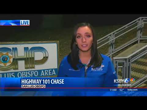 CHP pursuit through SLO County ends with two arrests