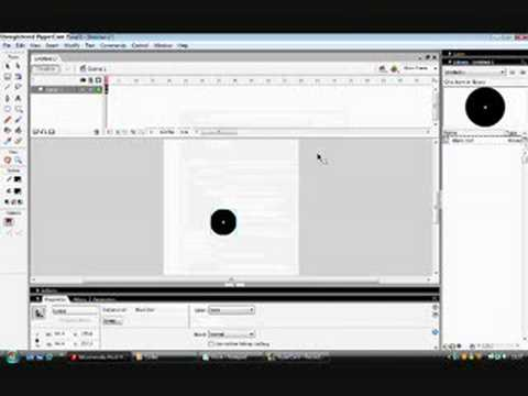 Macromedia Flash Pro 8 Game Tutorial 1 : Moving The Character