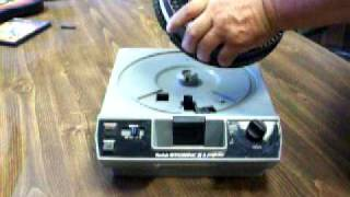 Kodak Slide Projector Basics