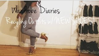 Wardrobe Diaries - Recycling Outfits w/ NEW SHOES! | AnnieDreaXO Thumbnail