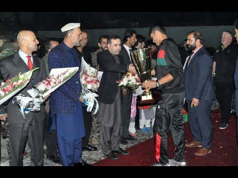 U-19 Cricket Team gets warm welcome after returning home with Asia Cup