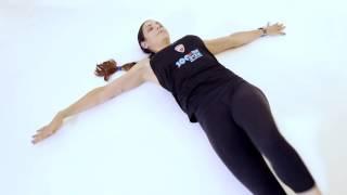 מתיחת שרירי הגב התחתון