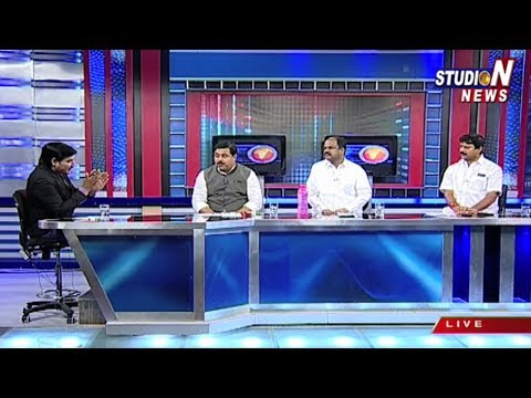 Discussion On Telangana CM KCR Delhi Tour To Meet Arun Jaitley | Studio N