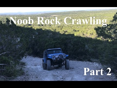 Rock Crawling at Hidden Falls Adventure Park Part 2 - How to Rock Crawl